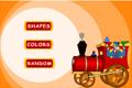 İngilizce Trenindeki Renkler ve Şekiller