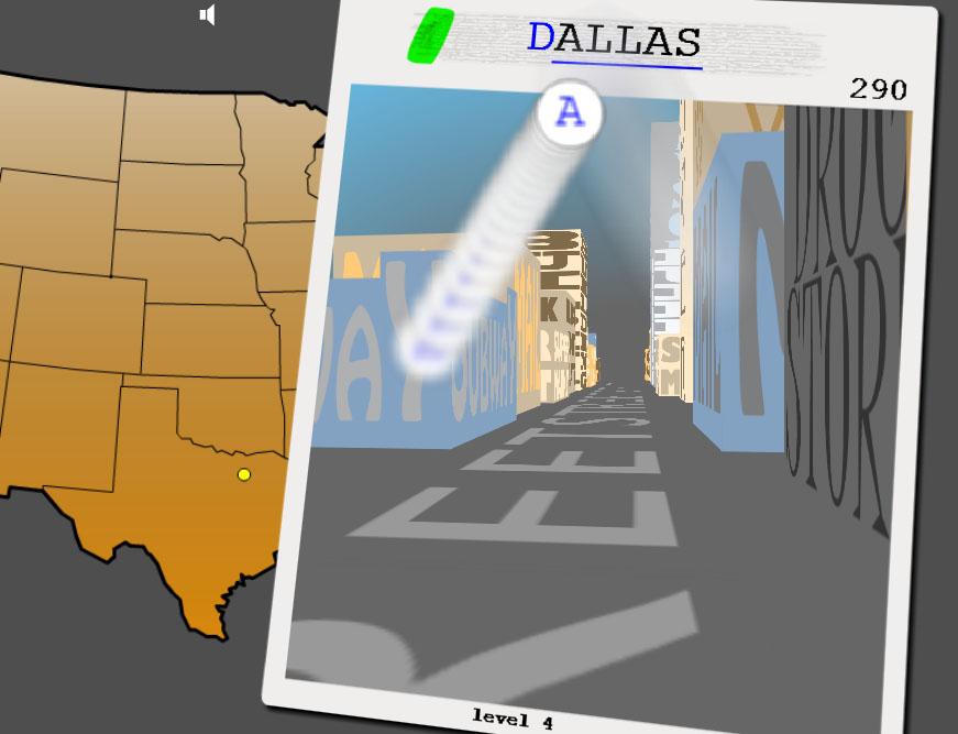 Amerika Şehirleri Kelime Oyunu