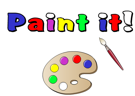 İngilizce boyama oyunu
