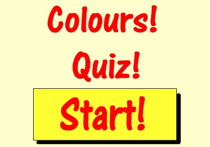 İngilizce Renkler Quiz