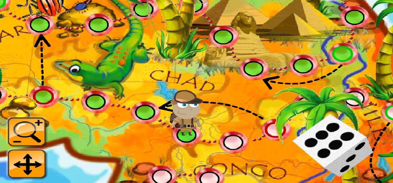 İngilizce Safari Oyunu