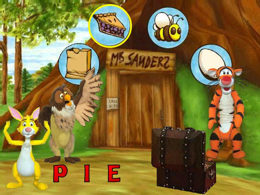 Winnie The Pooh Heceleme Oyunu