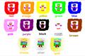 Colours - Renkleri Öğrenme