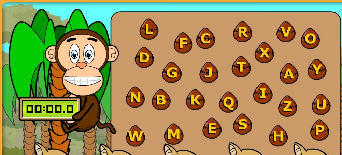 Alfabe harf sayma oyunu