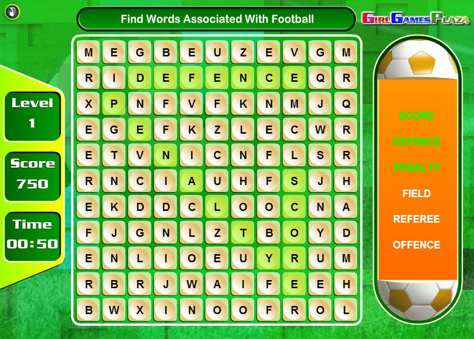 İngilizce Futbol Bulmacası
