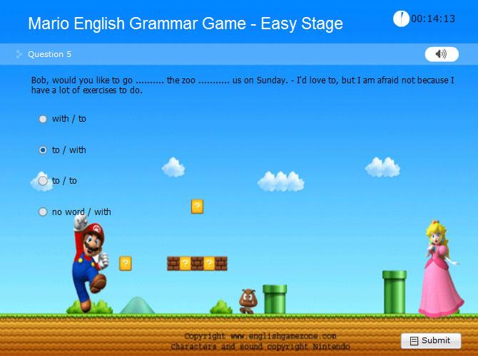 Mario ile İngilizce Gramer