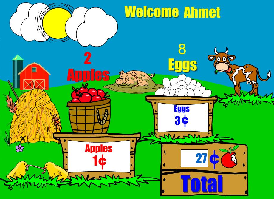 Sevimli Hayvanlarla Çiftlikte Matematik
